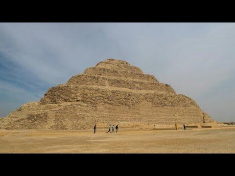 Wiedereröffnung der ältesten Pyramide Ägyptens