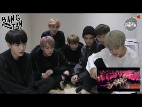 ENG 161012 BANGTAN BOMB 39 Blood Sweat Amp Tears 39 MV Reaction By BTS