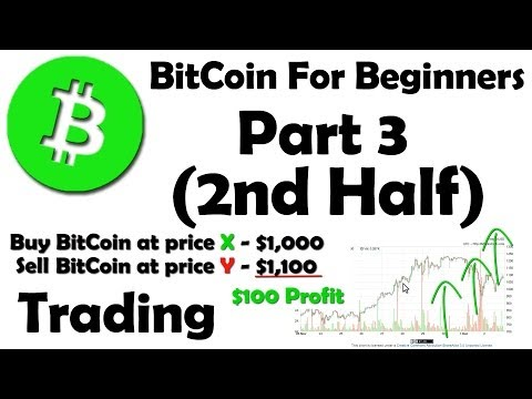 BitCoin For Beginners – How To Buy BitCoin And Trade It – Part 3 2/2