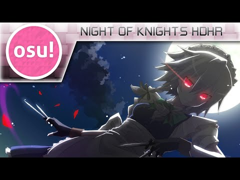 Video [osu!] Night of Knights HDHR 533PP download in MP3, 3GP, MP4, WEBM, AVI, FLV February 2017