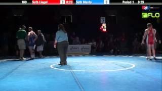 Junior 182 - Domenic Abounader (Ohio) vs. John Filipek (Missouri)