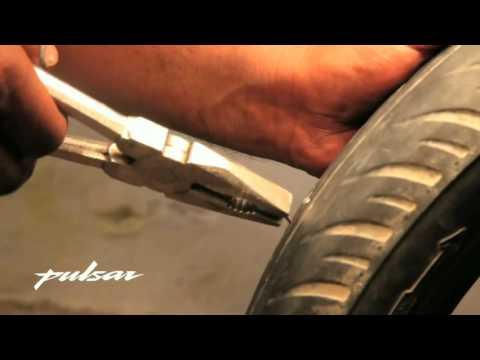 Neumáticos sin cámara, reparación de pinchazos.