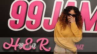Video H.E.R. Speaks On Her Debut Album, Her Love Life, Touring With Chris Brown & More MP3, 3GP, MP4, WEBM, AVI, FLV Agustus 2018