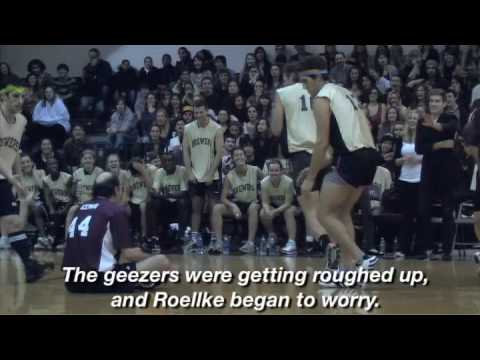 Der Student-Fakultät Basketball Spiel