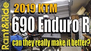10. 2019 KTM 690 Enduro R could they really make it better?