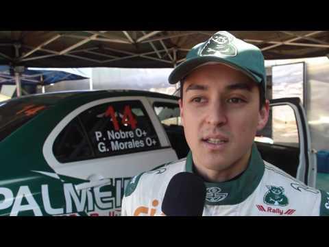 Gabriel Morales Após SS10 Rally Piraquara 2008