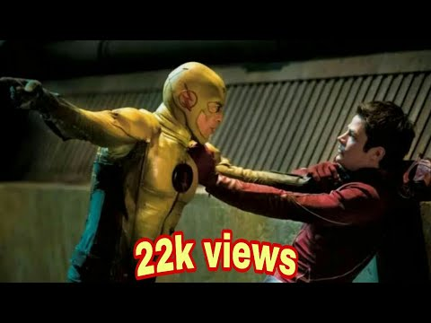 Flash Vs Reverse Flash || Hindi Dubbed || The Flash Tv series