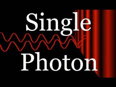 Photon - What happens when single photons of light pass through a double slit and are detected by a photomultiplier tube? In 1801 Thomas Young seemed to settle a long...