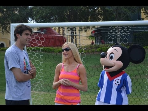 Brazilian Soccer Star Kaka Shares Advice for Youth Soccer Players: Fitzness Minute from Disney!