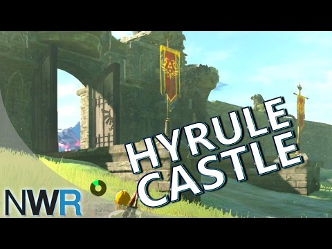 Zelda: Breath of the Wild Running to Hyrule Castle (New Switch Gameplay) (видео)