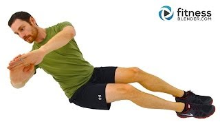 Total Body Strength Training And Core Workout For Beginners - Low Impact Workout At Home