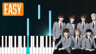 "Video BTS - ""DNA"" 100% EASY PIANO TUTORIAL MP3, 3GP, MP4, WEBM, AVI, FLV April 2018"