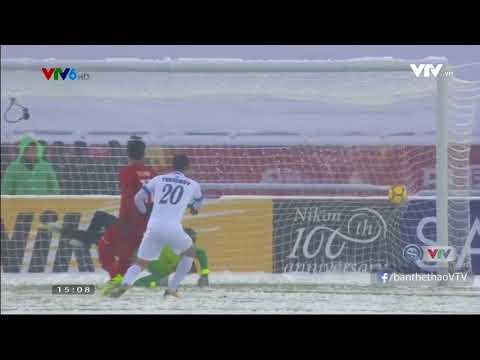 U23 Việt Nam 1 1 U23 Uzbekistan Hiệp 1 - Thời lượng: 73 giây.
