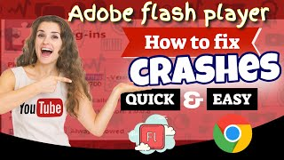 Video How to fix crashes from adobe flash player in google chrome browser MP3, 3GP, MP4, WEBM, AVI, FLV Maret 2019