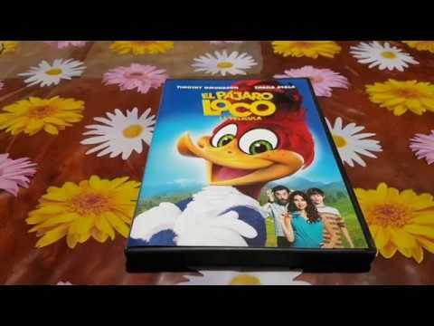 El Pájaro Loco La Película Woody WoodPecker DVD Nuevo Y Precintado De Fábrica New Unboxing