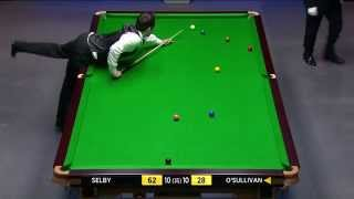 Snooker 2014 W.C.Selby V  O'Sullivan (21) [HD]