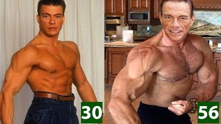 Jean Claude Van Damme - Transformation From 4 To 56 Years Old