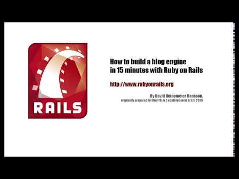 Ruby on Rails demo
