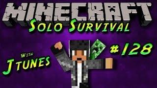 Minecraft: Survival Mode Episode #128 - New Enchanting Room&Starting New Rails!