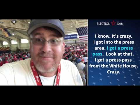 Liberal Muckraker Secretly Films Get Out The Vote Video For Democrats...At Trump Rally