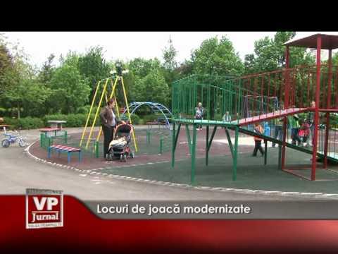 Locuri de joacă modernizate