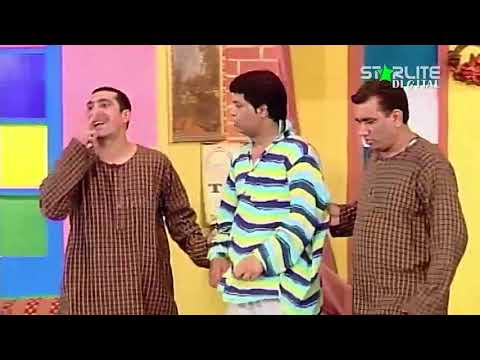 Zafri Khan and Nasir Chinyoti New Pakistani Stage Drama Full Comedy Funny Clip