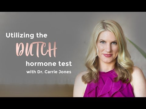 Utilizing the DUTCH Hormone Test with Dr.  Carrie Jones