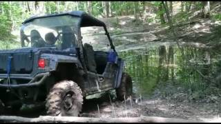 9. Yamaha Wolverine R Spec in some mud