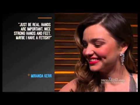 Миранда керр секси видео