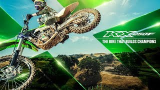 8. 2018 Kawasaki KX250F, THE TOP FEATURES AND UPDATES FOR 2018