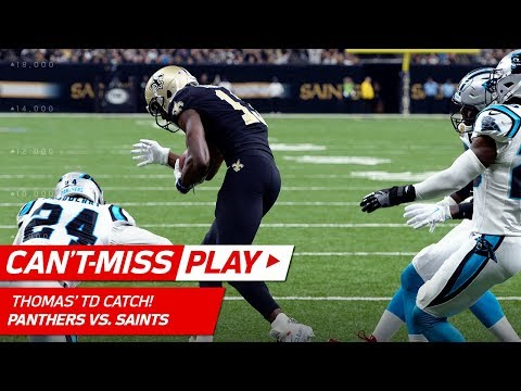 Video: Carolina's Punt Folly Leads to Drew Brees' TD Pass to Michael Thomas | Can't-Miss Play | NFL Wk 13