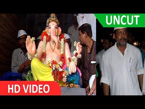 UNCUT: Nana Patekar's Ganpati Visarjan