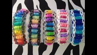 Roly-Poly Bracelet On Rainbow Loom - YouTube