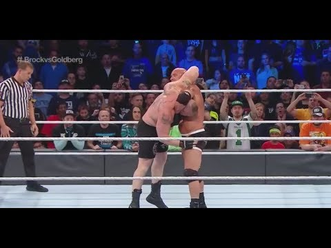 FULL MATCH - Goldberg vs. Brock Lesnar - Mega Match 2017