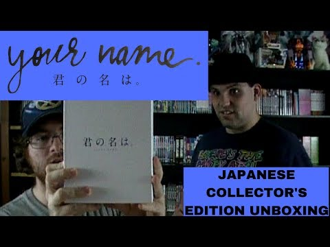 Your Name Japanese Import Collector's Edition Unboxing