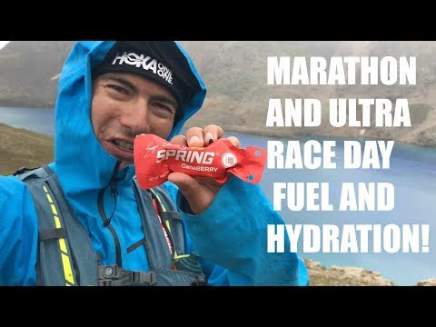 ULTRA MARATHON FUEL AND HYDRATION STRATEGY!  Canaberry Spring Energy Nutrition