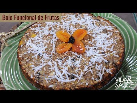 Nutricionista - Receita: Bolo funcional de frutas com Cleonice Pereira (10/04/19)
