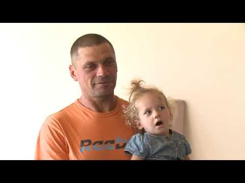 Игорь Додон навестил семью Беженару в городе Дрокия