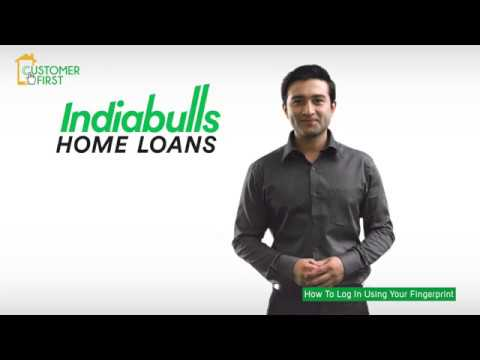 How to log in into the Indiabulls Home Loans mobile app using your fingerprint