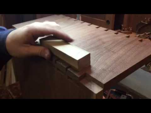 Dovetails coming together perfectly!