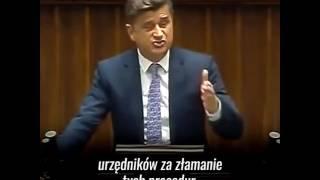 To nagranie sprzed lat po prostu poraża. Janusz Palikot przewidział wszystko, co Prawo i Sprawiedliwość zrobi z Polską.