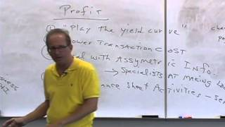 Money And Banking: Lecture 20 - The Banking Industry 1