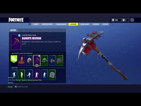 [Sold/p]Trading Fortnite br account | raiders revenge | gingerbread man 40+wins