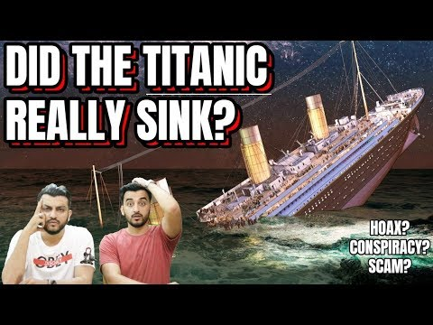 The Shocking Mystery Of The Titanic Sinking! (hindi Urdu) | The Baigan Vines