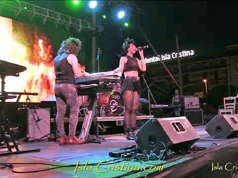 Apertura Fiesta de los 80s Isla Cristina con Mecanomanía