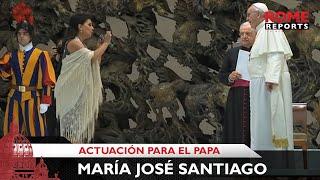Video Cantante gitana sorprende al Papa Francisco con dos canciones flamencas MP3, 3GP, MP4, WEBM, AVI, FLV Januari 2019