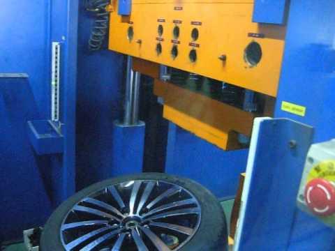 Испытание диска WSP Italy W462 Altair на косой удар обода (Volkswagen)