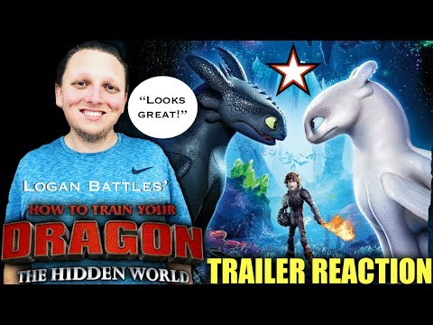 How to Train Your Dragon: The Hidden World | Official Trailer REACTION!