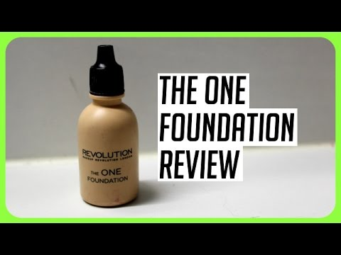 The One Foundation – Makeup Revolution (Review & Demo)