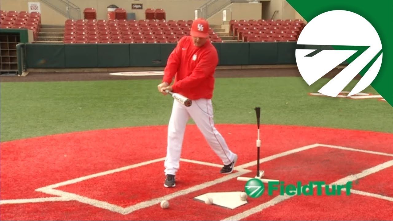 How to Hit off the Tee – Baseball Training with Todd Whitting